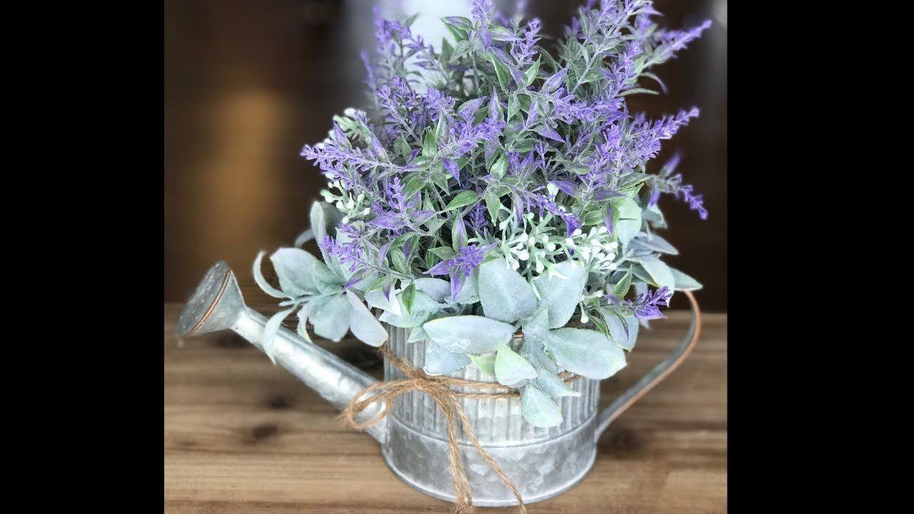 Diy farmhouse flower arrangement how to make a table