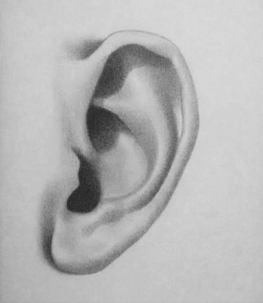How to draw an ear - 5 easy steps | Feinrein | Pinterest ... Ear Sketches