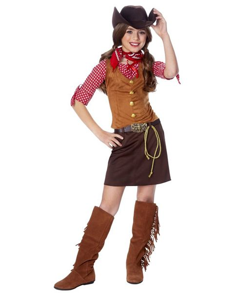 Pin by Lexie P on Halloween costumes Pinterest Cowgirl costume - halloween ideas girls
