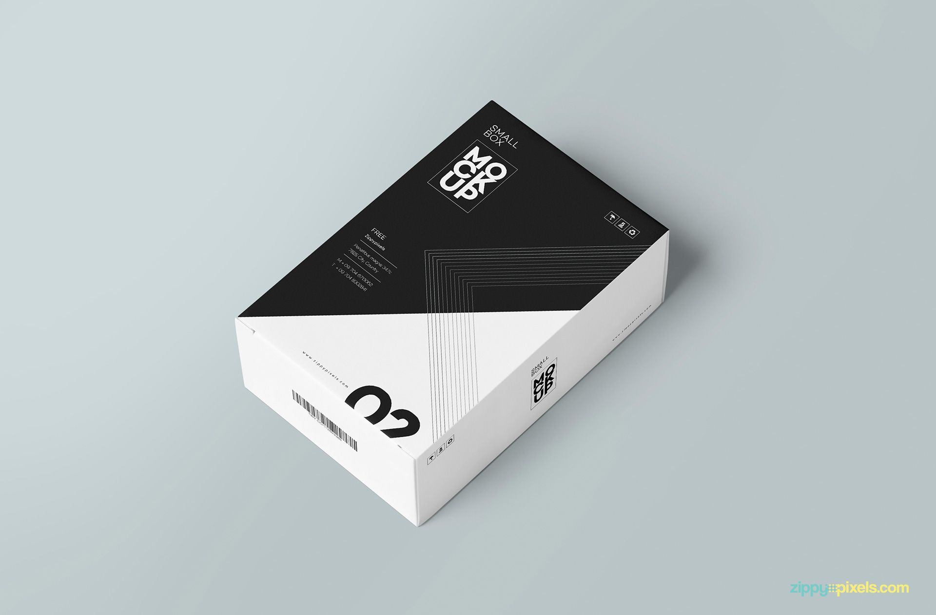 Download Free Customizable Card Box Mockup Zippypixels Packaging Template Design Box Mockup Packaging Template