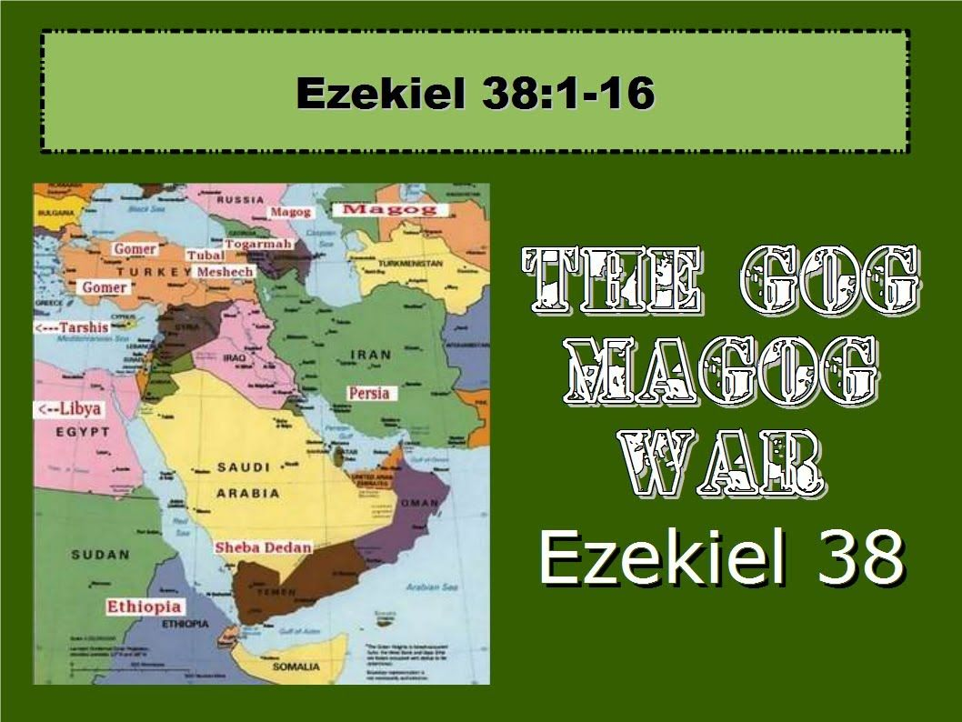 ezekiel 38 war the gog magog war 1 of 4 ezekiel 38