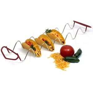 TACO RACK http://www.coast2coastkitchen.com/store/specialty-kitchen-tools/ethnic-cooking/taco-rack-21