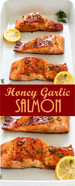 Honey Garlic Salmon images