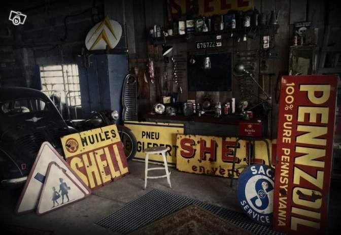 Déco Garage Vintage Décoration Moselle Leboncoinfr Gas Pumps