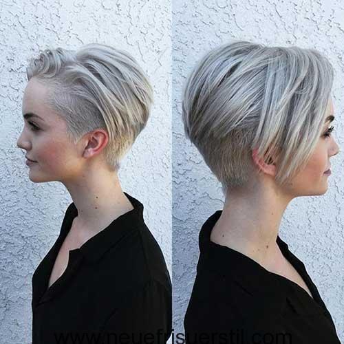 Frauen Mit Modernen Kurz Haar Kurzhaarfrisuren Kurzhaarschnitte Coole Frisuren