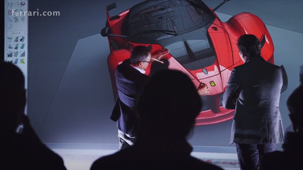 Ferrari FXX K - Vierual Reality Design Review #ferrarifxx