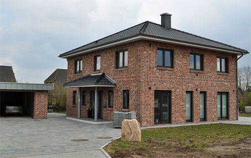 Stadtvilla klinker  AGGERBAU.de | Fassade | Pinterest | Klinker, Stadtvilla und Hausbau