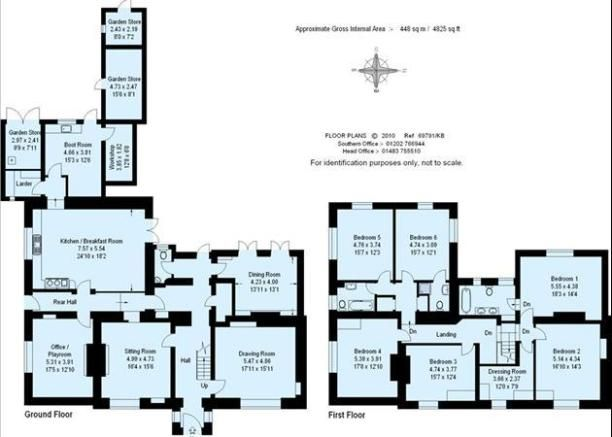 Wonderful Manor House, Woolland, Blandford Forum, Dorset, Floor Plan