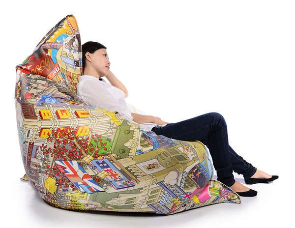 Oversized City Inspired Seating