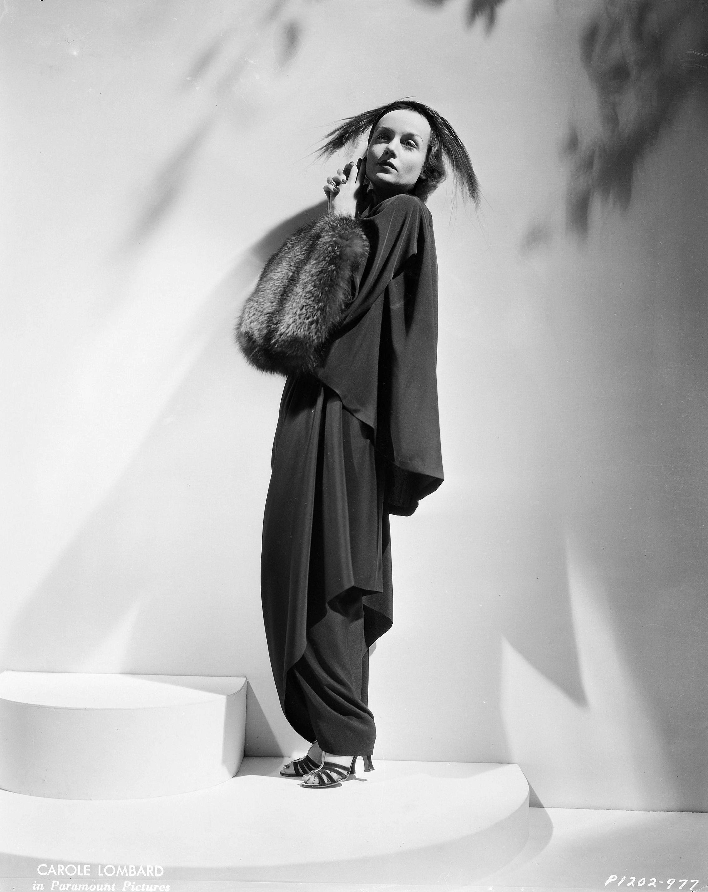 Carole Lombard (Paramount, 1935); photo by Eugene Robert Richee