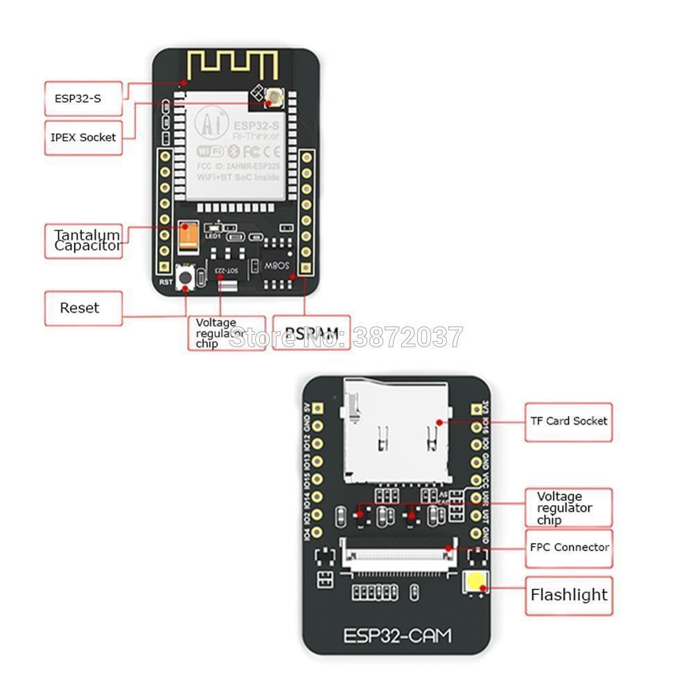 ESP32-CAM WiFi Bluetooth Module ESP32 Development Board ESP32 with
