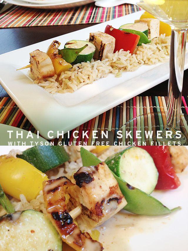 Ad: Thai Chicken Skewers Featuring Tyson Gluten Free ...