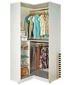 Free Standing Closet In A Corner Alta Freestanding Corner