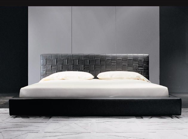 Wood Furniturebiz Products Bedroom Furniture Minotti - Black and white bedroom with wood furniture
