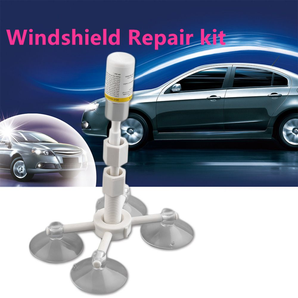 Professional DIY Auto Glass Windscreen Repair Tools Set Car ...