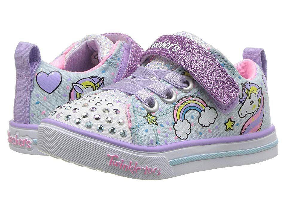 Escuchando ex tinción  SKECHERS KIDS Twinkle Toes - Sparkle Lite Unicorn Craze 10988N Lights  (Toddler) Girl's Shoes Light Blue/Mu… | Skechers kids, Kids athletic shoes,  Toddler girl shoes
