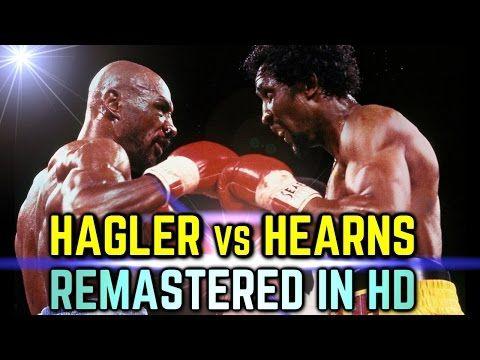 Starkmma Hagler Vs Hearns Remastered Hd Greatest 3 Rounds I Marvelous Marvin Hagler Youtube Fight