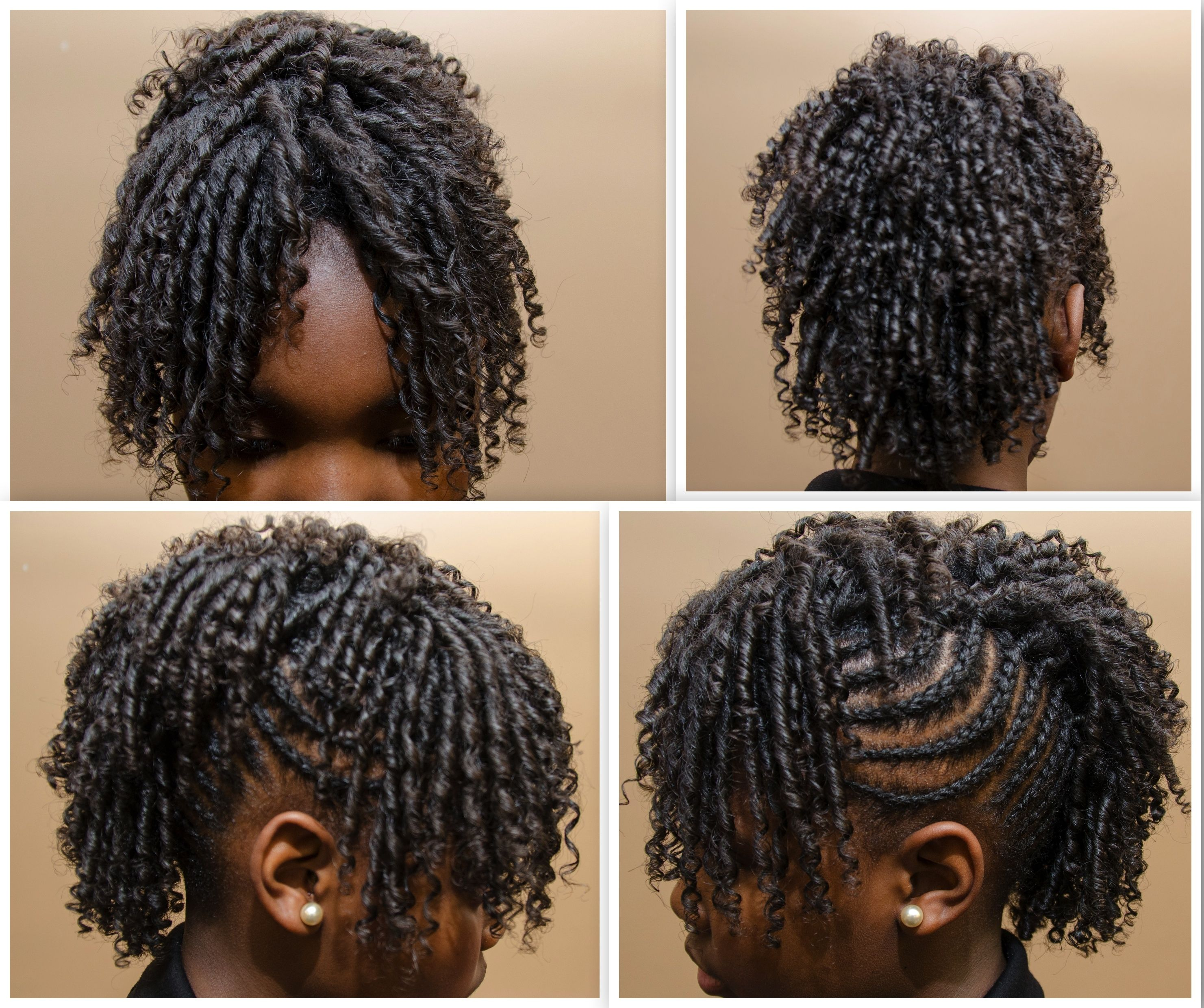 Braided Mohawk With A Straw Set On Natural Hair Tnc Natural Hair Inspiration Natural Hair Styles Hair Styles