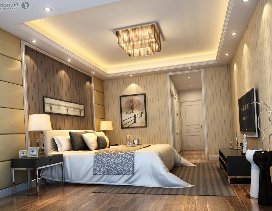 Modern ceiling design for bedroom https bedroom design for Interior design for living room roof
