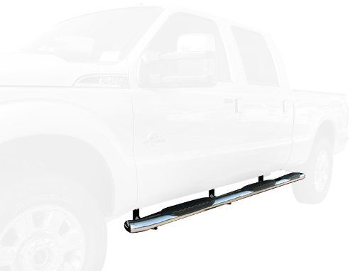 Tyger 5bend Wheeltowheel Side Step Bars Fit 9915 Ford F250f350f450f550 Superduty Crew Cab 65 Standard Bed 2pcs W2w Wtw Running B Crew Cab Cab Mounting Brackets
