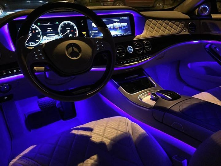 It S Like A Rave For Rich People Inside The Maybach At Night With