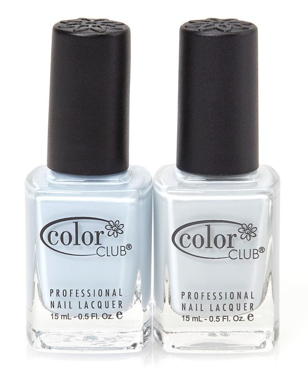 Look what I found on #zulily! In De-Nile & Silver Lake Nail Polish Set by Color Club #zulilyfinds