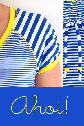 mein v-shirt und ein mini-ergänzungs-tutorial #rums31 – frau liebstes