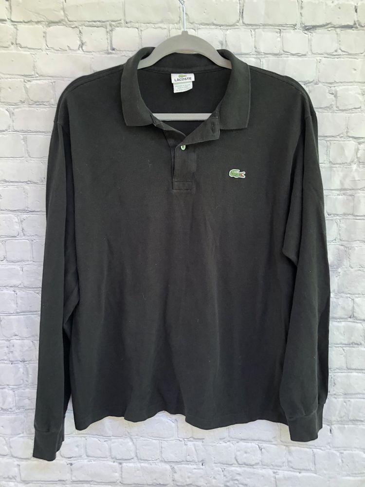 013f1e0098b5 LACOSTE Mens Black Long sleeve Alligator Polo Shirt-Size Large 5  fashion   clothing  shoes  accessories  mensclothing  shirts (ebay link)