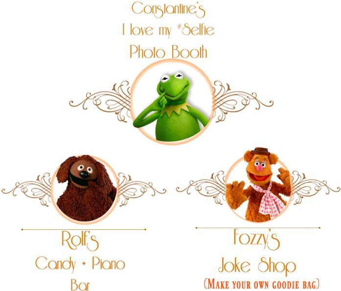 Muppets Animal Free Printable: Muppet Birthday Printables FREE