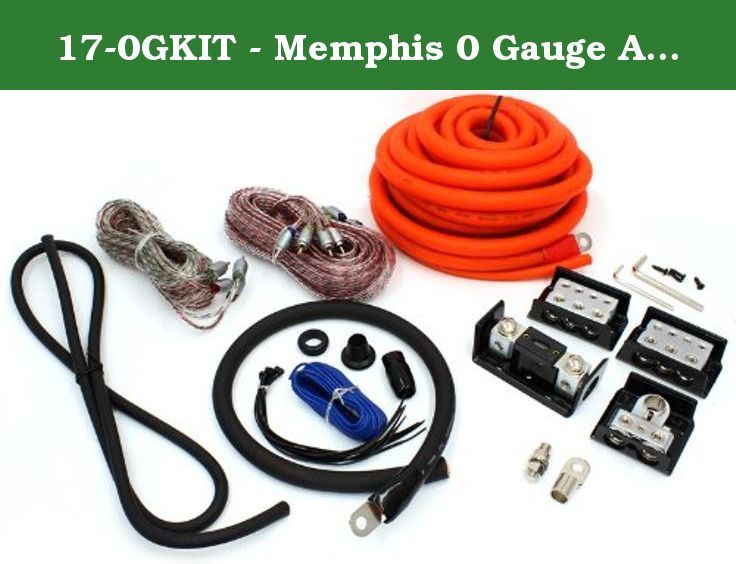 17 0gkit Memphis 0 Gauge Amplifier Kit 20 0 Awg Full Spec M Flex Power Wire 1 17 2 Channel 1 17 4 Cha Amplifier Car Audio Amplifier Car Audio