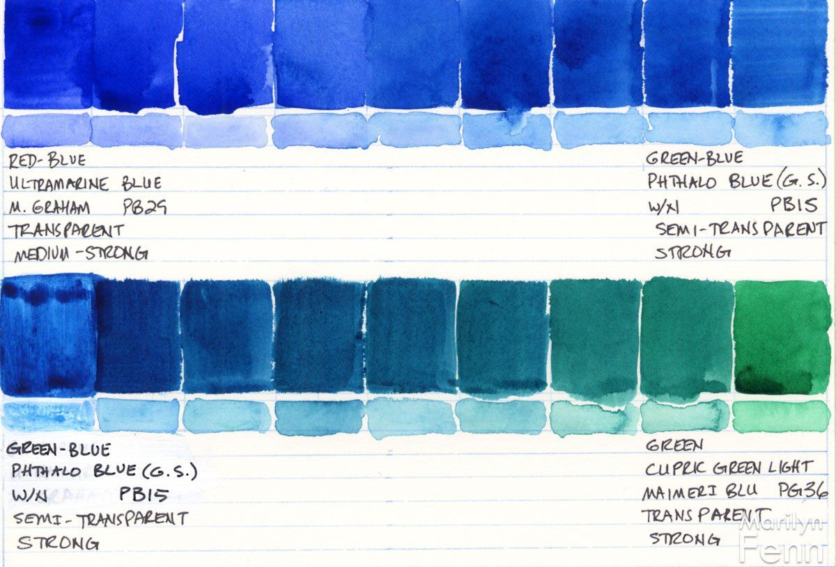 Color Studies Watercolor Color Studies Color Color Mixing