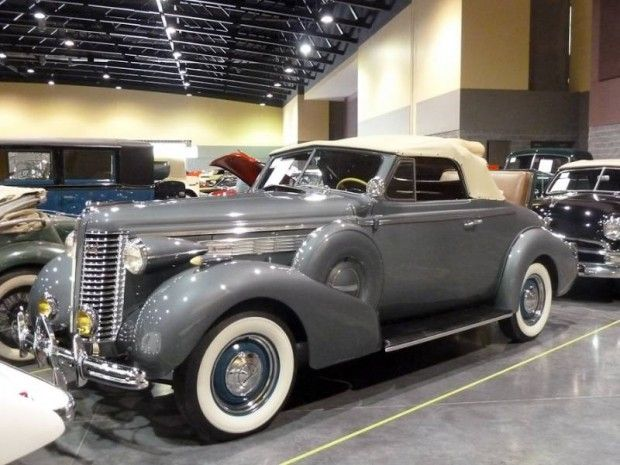 1938 Buick Special Series 40 Convertible Coupe With Rumble Seat