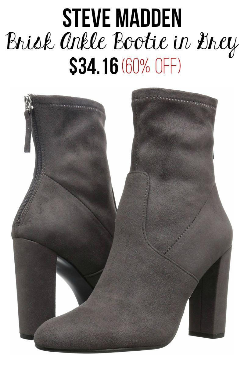 6d6e5148be Steve Madden Women's Brisk Ankle Bootie #booties #amazon #prime #sale #steve  #madden #60 #percent #off #deal