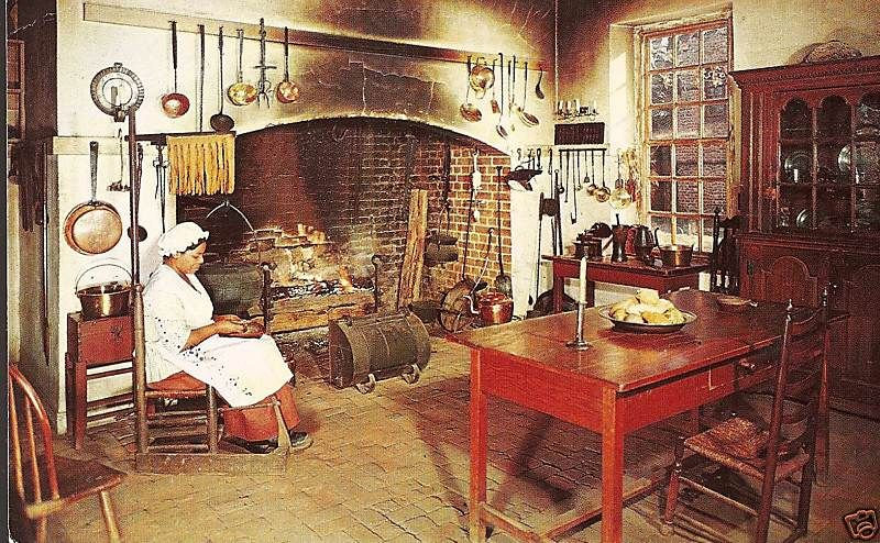 colonial williamsburg kitchen | 18th Century American ...