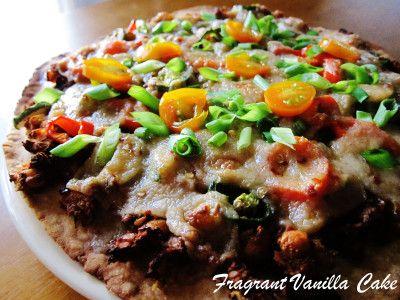 Vegan pizza de chorizo 1