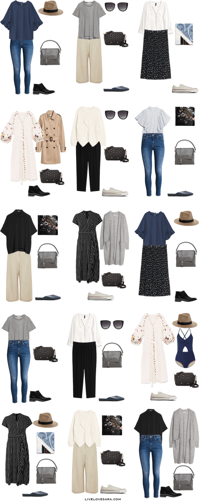 Awesome What To Wear For One Month In Europe Packing Light List Outfit Options  16 30 #packinglist #packinglight #travellight #travel #livelovesara Amazing Pictures