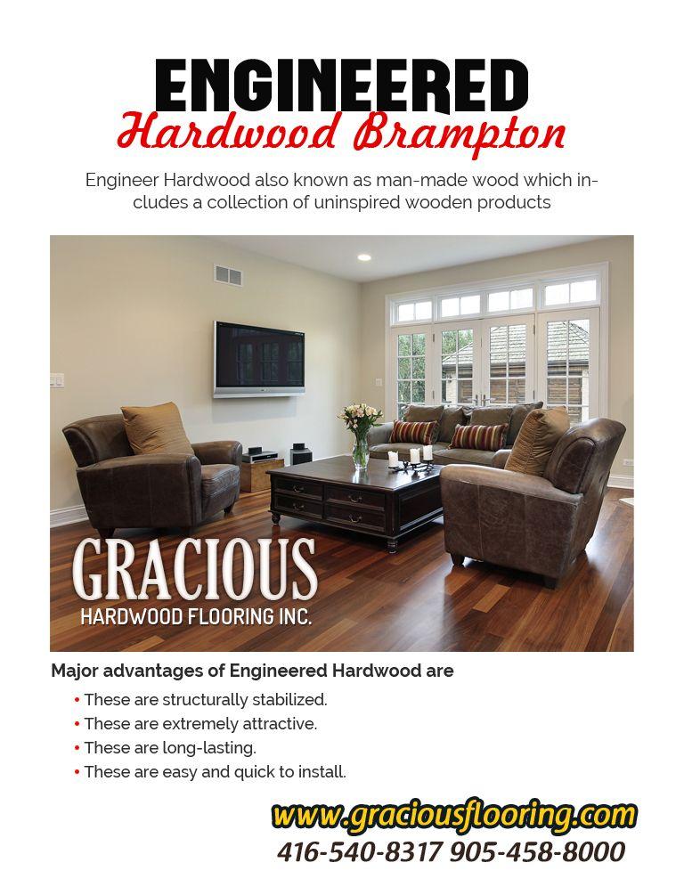 Engineering Hardwood Flooring Brampton Gracious Hardwood