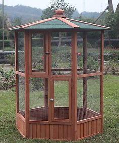 """6 """"grandes Pet Parrot Jaula Guacamayo cacatúa Cabeza Bird aviario Bird Finch suministros"""