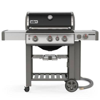 Weber Genesis II E 330 3 Burner Natural Gas Grill in Black