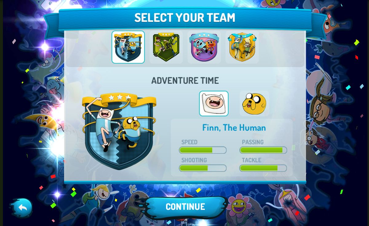 Arcade Soccer Game Developed For Our Client Cartoon Network Us And Latam Using The World Cup 2014 Theme Cricket Games Adventure Time Finn Soccer Games