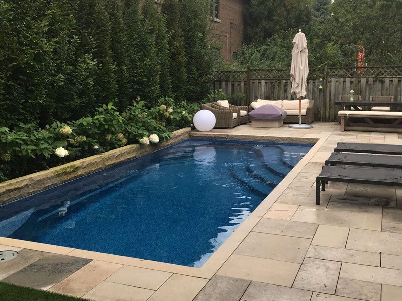 Rectangle Pool Designs Empress Viking Pools Great Color