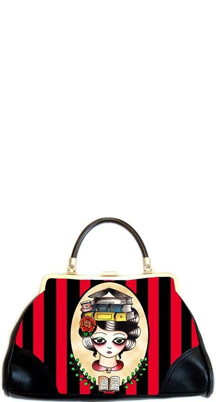 The Librarian Handbag by Jubly Umph