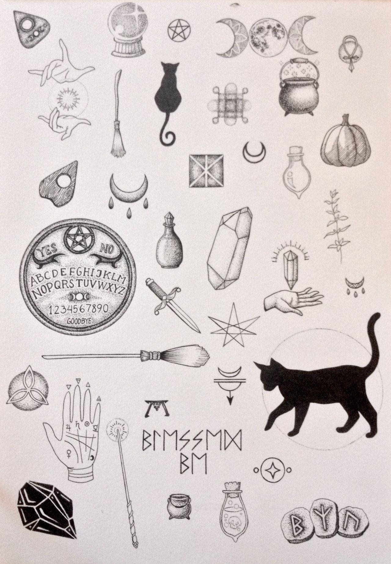 Pinterest pureher0ine tattoo pinterest moon design tattoo despite the miswritten runes nice tattoos buycottarizona Image collections