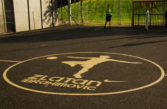 Zlatan Court by Nike | Nyström Persia