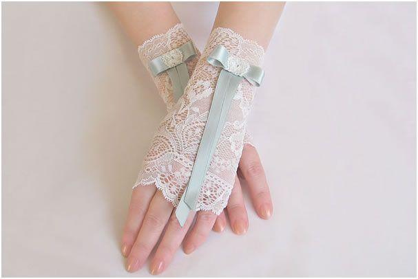 Как сшить свадебные перчатки