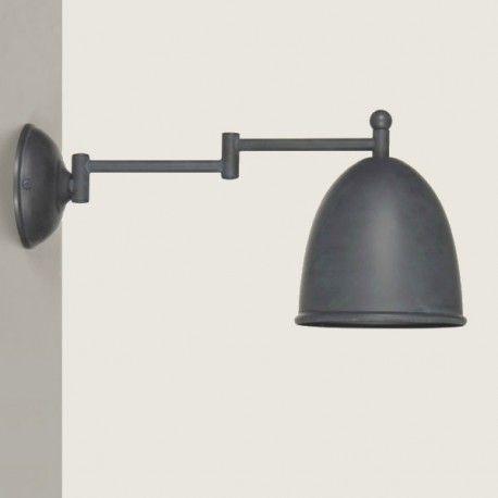 Applique murale Leds C4 Lampe de mur Funk bureau Marron