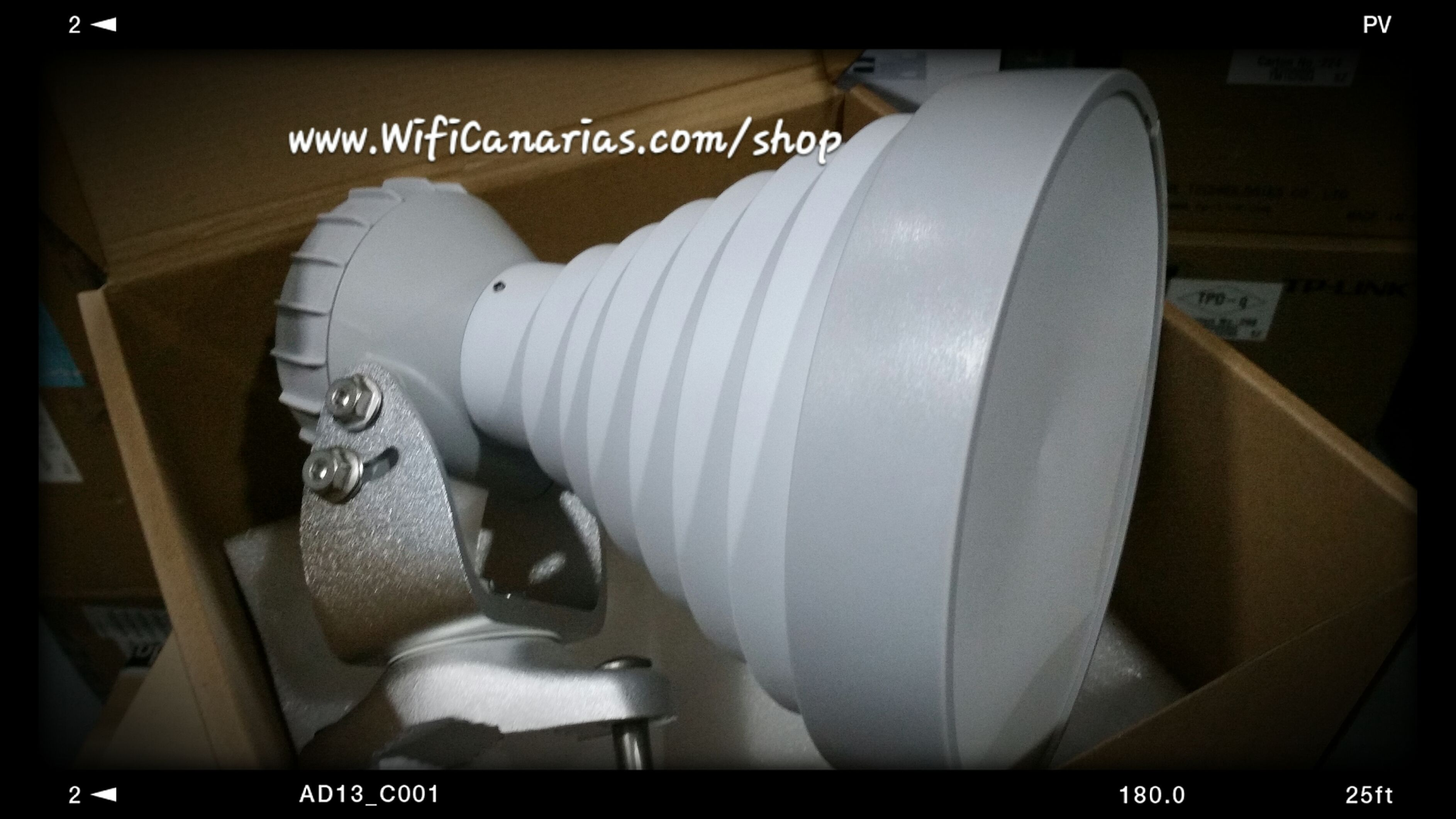 Ya disponible el SIMPER de RF elements...  cómpralo antes de que desaparezcan... http://www.wificanarias.com/shop/wireless-exterior/438-rf-elements-sector-bocina-simetrica-sh-tp-5-ghz-30-grados-18-dbi.html #RFElements #SIMPER