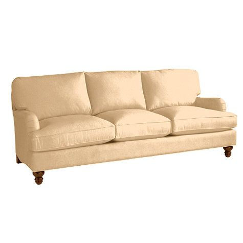 Eton Sofa in Velvet Sand We Also Need a New Couch If Anyone Wants