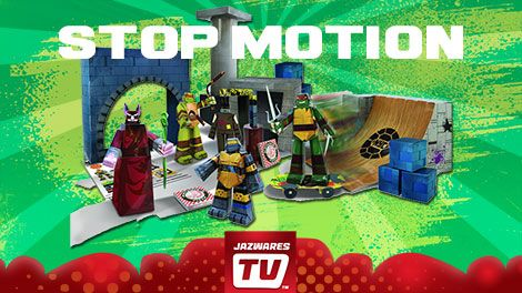 Check out our ‪#‎TMNT‬ Lair Papercraft Stop Motion Animation Video only on JazwaresTV at https://www.youtube.com/watch?v=U1TbrFV1HiM