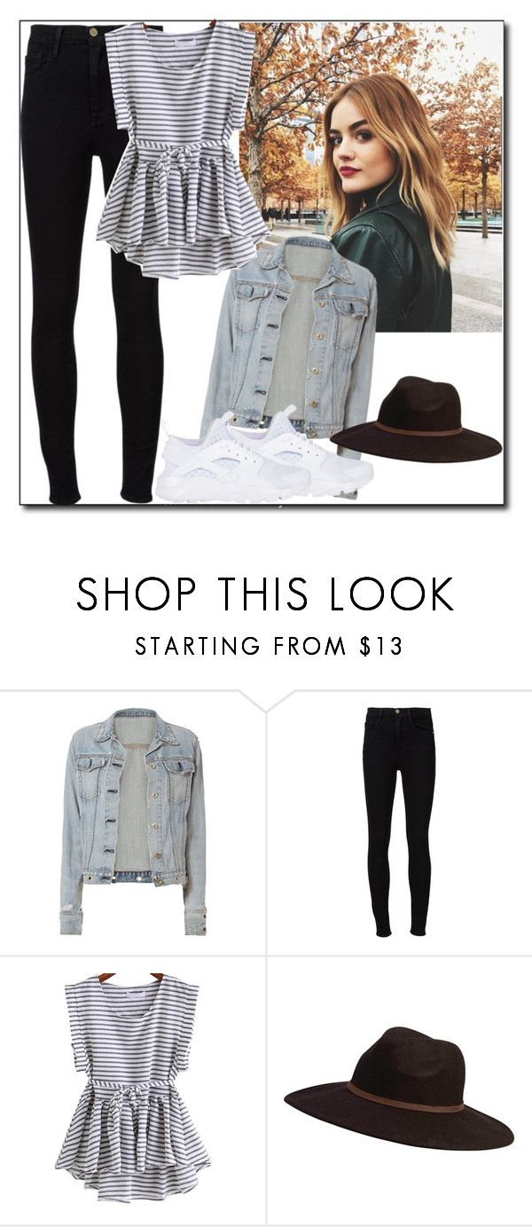 """ROMWE"" by tattooedmum on Polyvore featuring rag & bone, Frame, Billabong and NIKE"